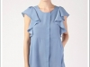 DRESS TAMBORINI BLUE