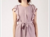 DRESS TAMBORINI LAVANDA